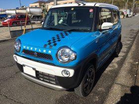 車名: ハスラー、年式: 平成27年7月、型式: DAA-MR41S、色: ブルー