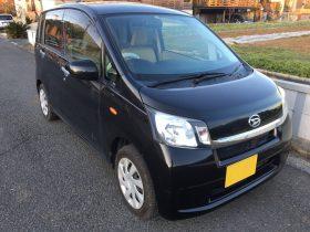 車名: ムーヴ L-SA、年式: 平成25年4月、型式: DBA-LA100S、色: ブラック